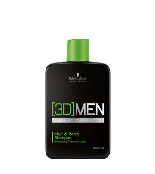 [3D]MEN Hair&Body Shampoo (250 ml)