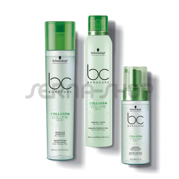 Schwarzkopf Bc Bonacure Collagen Volume Boost KIT