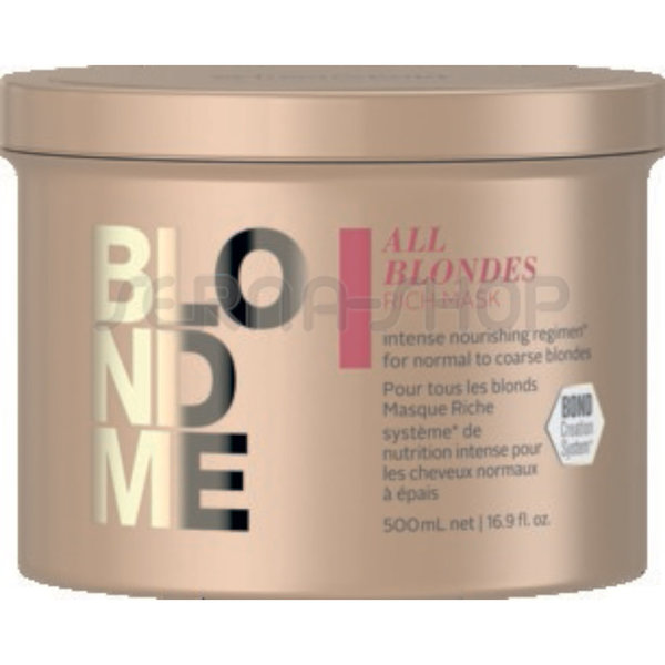 ALL BLONDES - RICH Mask 500ml